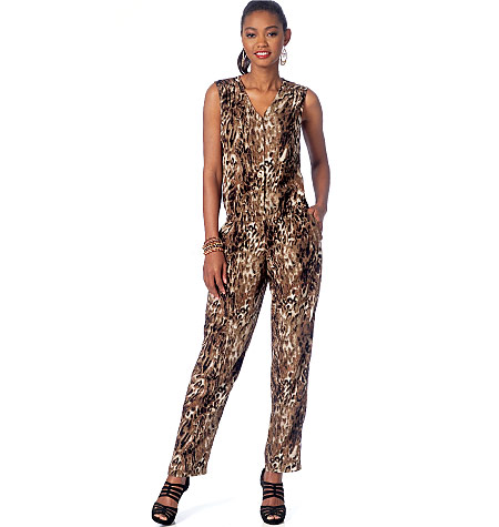 mcalls M7203 jumpsuit sewing pattern