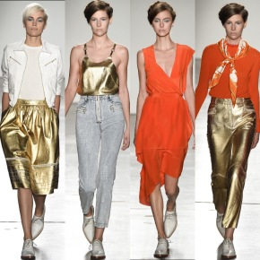 Runway Review: Karen Walker's Spring 2016 Ready-To-WearCollection