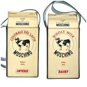Etsy Love: Vintage En Mode's Moschino Milk Carton Purse