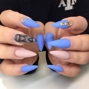 Love Matte Nails? Well You'll Love These Cute Designs.