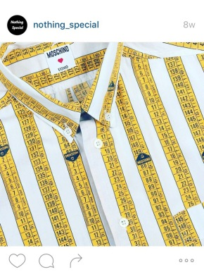 How Cute Are These Vintage MoschinoShirts