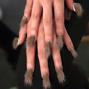 Would You Wear Fur Nails?