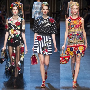 Dolce & Gabbana Spring 2016 Ready-To-Wear Collection