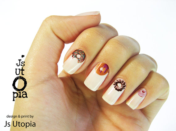 donut-nail-stickers