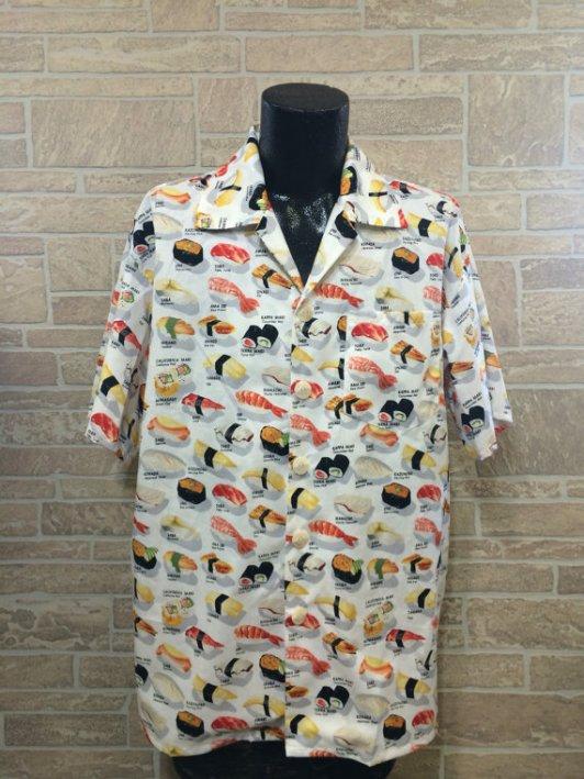 sushi-printed-shirt