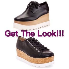 Get The Look! McCartney Vs. Madden: PlatformShoes