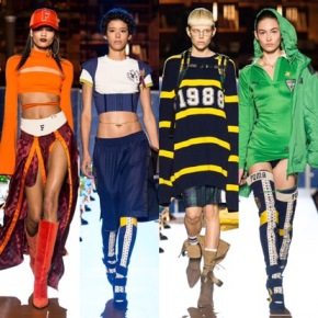 Preparatory School Meets Runway: Fenty x Puma Fall 2017 Collection