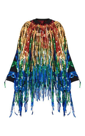 Keep Them Coming: This Sequin Fringed Jacket Is HOT!
