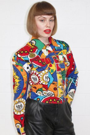 Crazy Prints  X Vintage Moschino