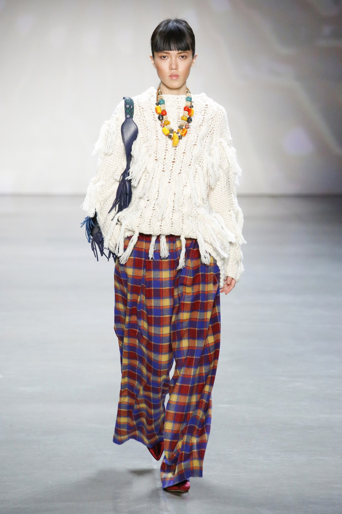 how to style plaid pants-vivienne tam-fall 2018