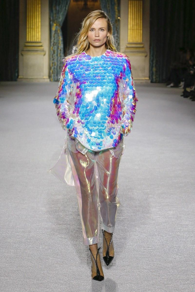 Balmain In Iridescent Fabrics, I Like Where This Is Heading