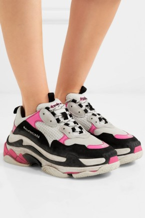 Currently Obsessing Over Balenciaga's Triple S DadSneakers