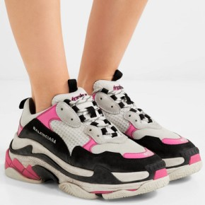 18beda586c9 ... steve madden memory sneakers. Currently Obsessing Over Balenciaga s  Triple S Dad Sneakers