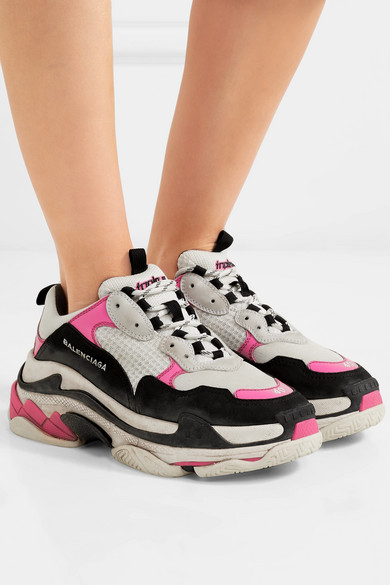 2d8cefe43fa Currently Obsessing Over Balenciaga s Triple S Dad Sneakers