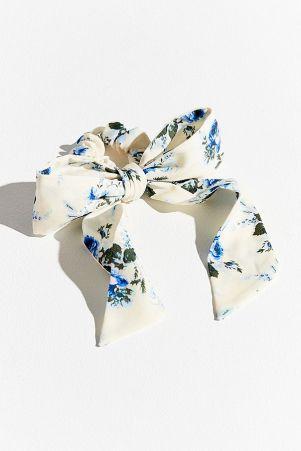 floral bow scrunchie laura ashley