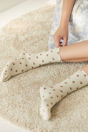 floral socks-laura ashley socks