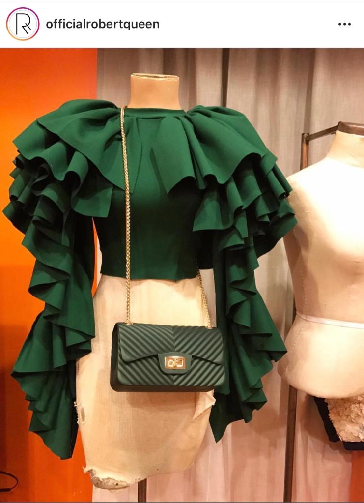 Robert Queen blouse robert queen fashion designer