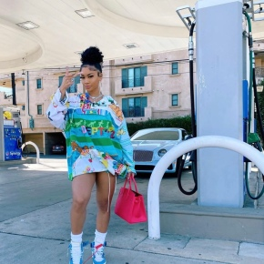 Sustainable Fashion: Let's Talk About Saweetie's GraphicHoodie